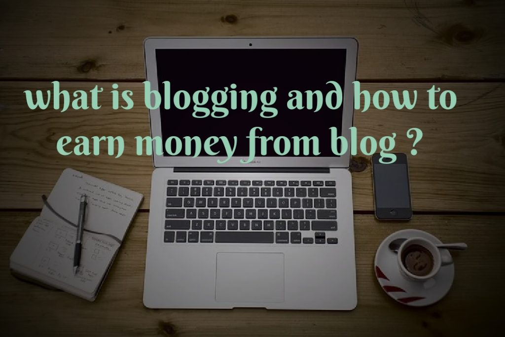 What is a blog and  how to earn money from blog ?