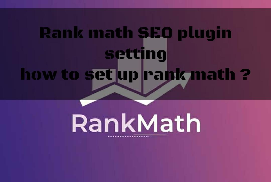 rank math seoplugin settings