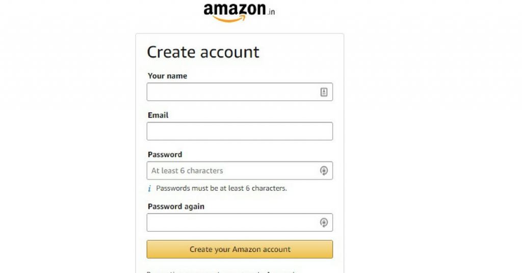 How to create amazon seller and amazon affiliate account